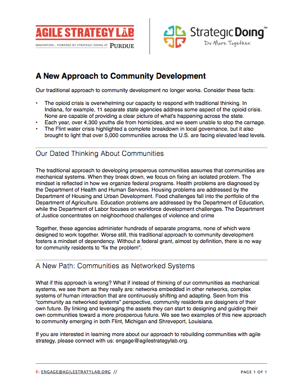 Redefining Community Development in the Age of Networks