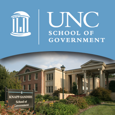 Forming a partnership with UNC Chapel Hill School of Government
