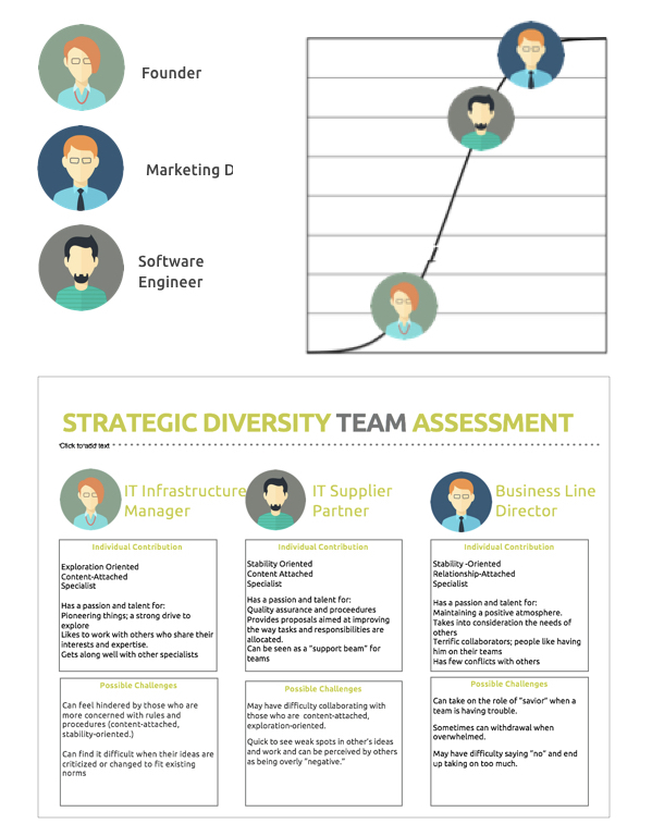 Strategic Diversity Infographic